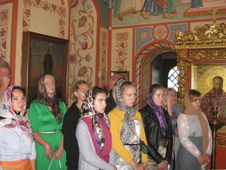 Казанский храм принимает гостей из Беларуси
