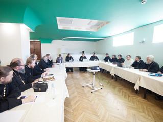 Собрание духовенства Люберецкого благочиния и пастырский семинар
