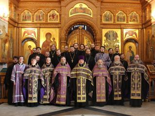 Братское совещание духовенства Люберецкого благочиния в связи с угрозой распространения коронавирусн
