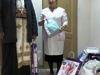 Посещение детского дома и реабилитационного центра в Малаховке