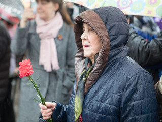 Митинг и лития о погибших в аварии на Чернобыльской АЭС