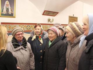 Встреча с посетителями Центра социального обслуживания и реабилитации