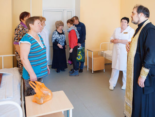 Посещение больницы в поселке Октябрьский