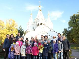 Поездка воскресной школы «Лучик» на Бутовский полигон