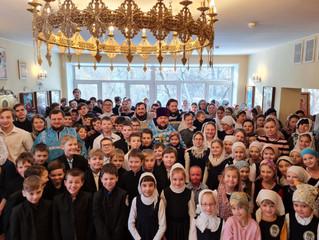 Сретение Господне и День православной молодежи в Люберецком благочинии