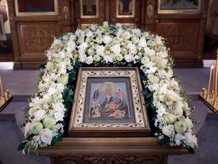 Праздник Преображения Господня в Преображенском храме г. Люберцы