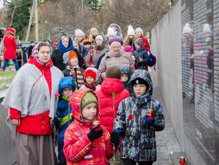 Паломничество воскресной школы «Зернышко» на Бутовский полигон