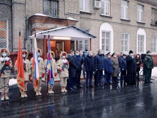 Торжественное напутствие будущих защитников Отечества в Люберцах