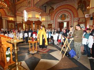 Освящение медицинских халатов в Люберецком благочинии