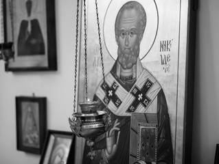 Божественная литургия в домовом храме Школы «Образ» пос. Малаховка в первую Седмицу Великого поста