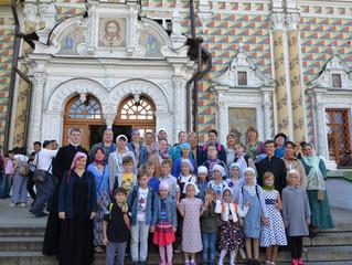 «Зернышко» в Свято-Троицкой Сергиевой Лавре