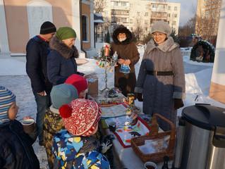 Благотворительная ярмарка в Красково