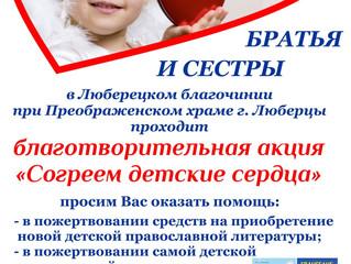 Благотворительная акция «Согреем детские сердца»