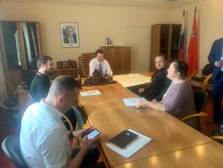Совещание по восстановлению порушенных святынь в Степановском