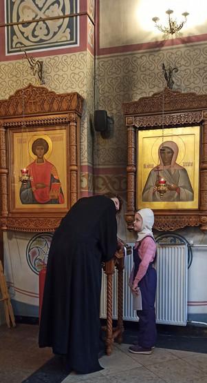 Подготовка воспитанников воскресной школы «Зернышко» к Причастию