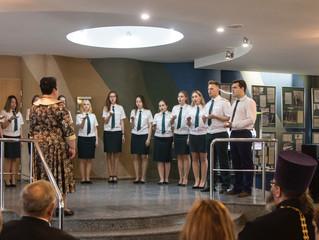 Концерт хора студентов Российской таможенной академии