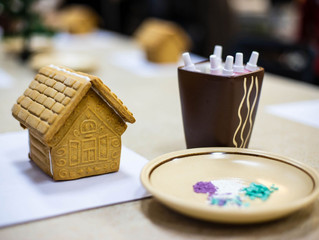 Мастер-класс по росписи пряничных домиков