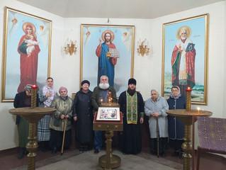 Молебен в Благовещенской часовне г. Котельники