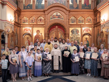 Выпуск Миссионерско-катехизаторских и Библейско-богословских курсов в Люберцах