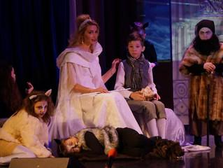 Премьера спектакля «Кроткий царь» в Красково