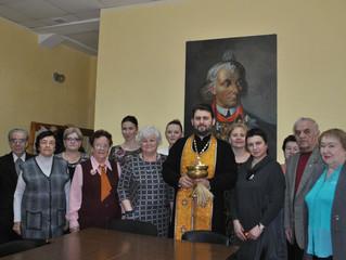 Посещение Дома ветеранов в Люберцах