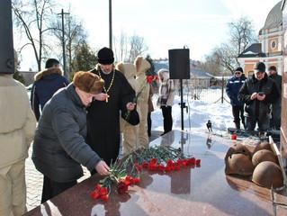 Поминовение почивших и поздравление здравствующих защитников Отечества в Краскове