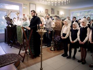 Престольный праздник в храме преп. Сергия Радонежского