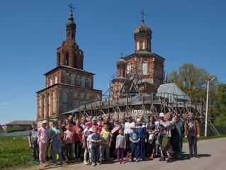 Паломничество воскресной школы Люберецкого благочиния к порушенным святыням Подмосковья