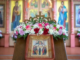 Божественная литургия в храме «Школы «Образ»» пос. Малаховка