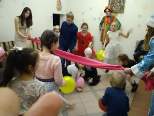Рождественские встречи в воскресной школе «Надежда»