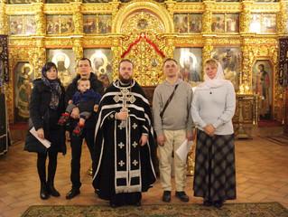 Принесение обетов трезвости в Казанском храме Котельников