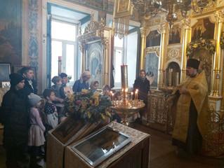 Праздник Рождества Христова в Успенском храме с. Жилино