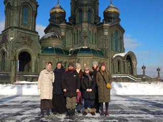 Молодежный клуб «Элеос» в Главном храме Вооруженных Сил РФ