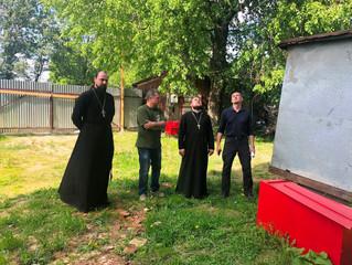Совещание по восстановлению  Благовещенского и Исаакиевского храмов в с. Степановское