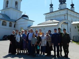 Паломничество в Белопесоцкий монастырь