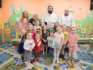 Освящение детского сада в Люберцах