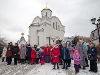 Общее причастие воспитанников воскресной школы «Зернышко» и экскурсия по храму