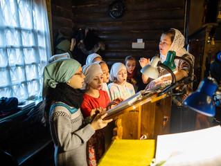 Детская Божественная литургия