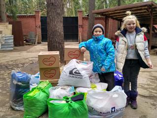 Помощь приюту от Казанского храма в Котельниках