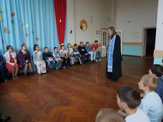 Подготовка детей к Евхаристии в санатории «Малаховка»