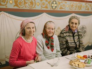 Праздник для пожилых людей в Преображенском соборе города Люберцы