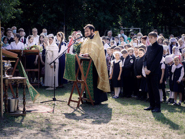 День знаний в православной школе «Образ»