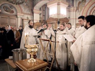 Крещение Господне в Люберцах
