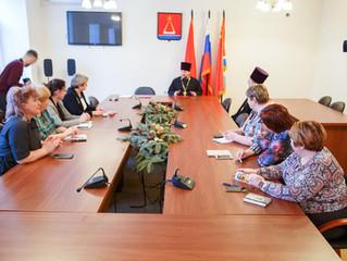 Соглашение о сотрудничестве между Люберецким благочинием и управлением образования г. Лыткарино