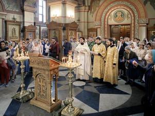Молебен пророку Илии в Люберцах