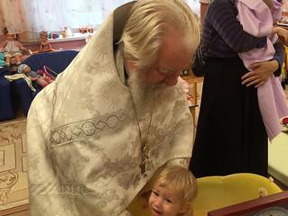 Крещение детей в Люберецком Доме ребенка