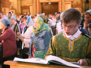 День Святой Троицы в храме Преображения Господня г. Люберцы