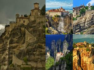 5 самых удивительных монастырей Метеоры