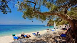 Крошечные греческие острова Паксос и Антипаксос