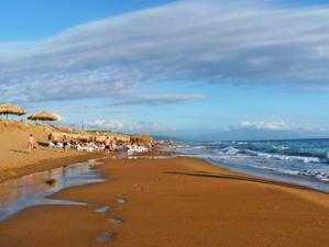 Самый протяженный пляж Греции